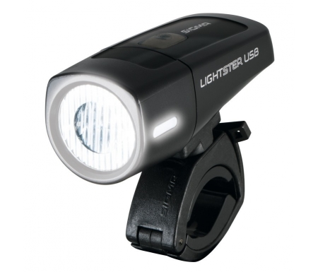 sigma lightster cykellygte 32 lux forlygte usb opladelig 4918600 - Sigma Lightster cykellygte - 32 LUX forlygte - USB opladelig