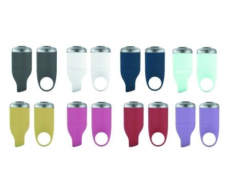 lygtesaet reelight go batterilygte 0510X - Lygtesæt: Forlygte + Baglygte til din cykel
