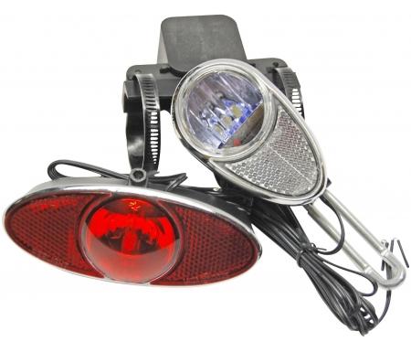 reelight magnet lygtesaet rl770 kraftig forlygte og fast lys i baglygte 4737271 - Lygtesæt: Forlygte + Baglygte til din cykel