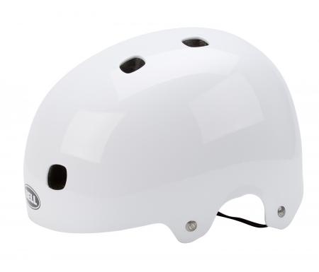 bell segment cykel og skaterhjelm blank hvid 1170572XX - Bell Segment cykel- og skaterhjelm - Blank hvid