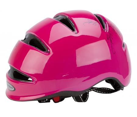 cykel og skihjelm mango scatto pink med motiv 950160XX - Cykel- og skihjelm Mango Scatto Pink med motiv