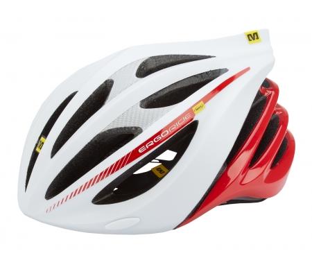 cykelhjelm mavic plasma hvid roed MS355166XX - Cykelhjelm Mavic Plasma - Hvid/rød