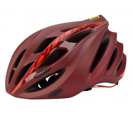 mavic ksyrium elite cykelhjelm roed orange MS378358 X - Mavic Ksyrium Elite Cykelhjelm - Rød/Orange