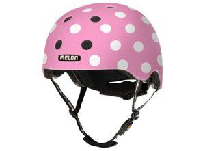mua dotty pink 0011 300x221 - Melon Dotty Pink cykelhjelm