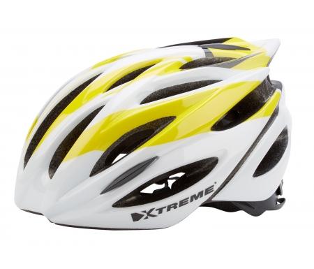 xtreme cykelhjelm x otw str 55 60 cm gul 167400 - Xtreme - Cykelhjelm X-OTW - Str. 55-60 cm - Gul