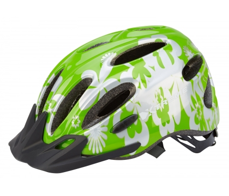 xtreme x city cykelhjelm str 55 60 cm lime soelv 169300 - Xtreme - X-City - Cykelhjelm - Str. 55-60 cm - Lime/Sølv